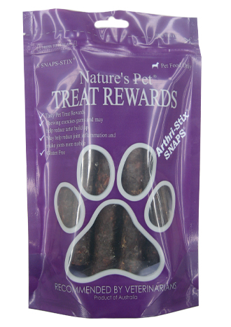 Nature's Pet® SNAPS®<br>Arthri-Stix® 8 SNAP-STIX<br>SNAP'N'SHARE
