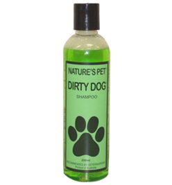 Nature's Pet Dirty Dog Shampoo 250ml