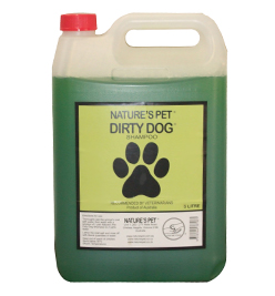 Nature's Pet Dirty Dog Shampoo 5litre