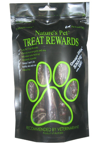 Nature's Pet SNAPS®<br>Omega-Stix® 8 SNAP-STIX®<br>SNAP'N'SHARE®