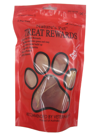 Nature's Pet® SNAPS®<br>Pigs Ears 2's